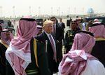 US President Donald Trump in Riyadh on May 22.