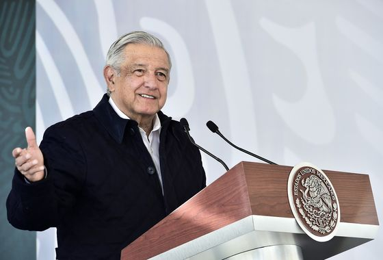 Mexico's AMLO Says 'Critical Stage' of His Covid Has Passed