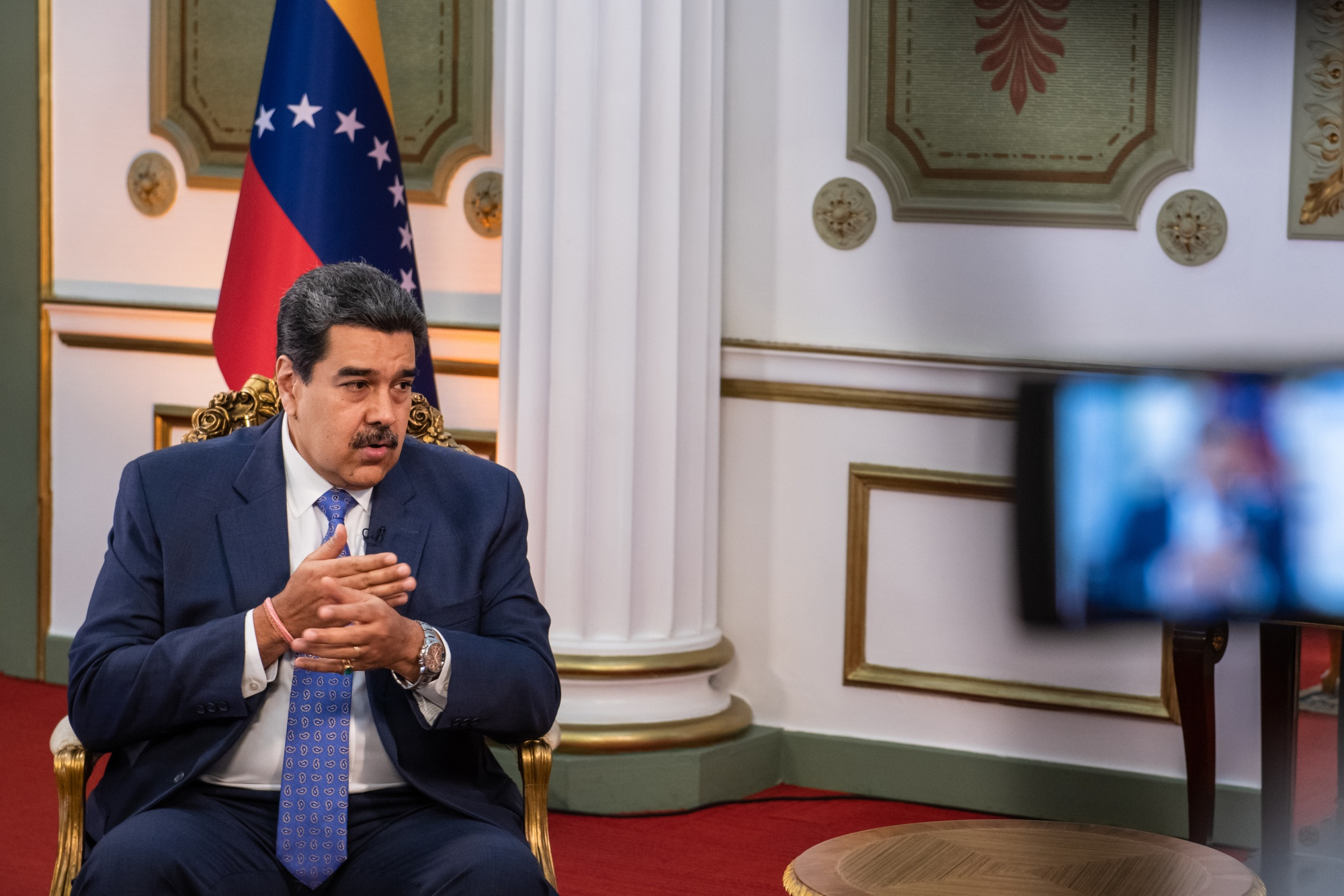 relates to Venezuela President Maduro Talks Sanctions, Economy: Transcript