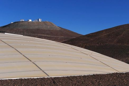 Watch a Mountaintop Get Blown Off in the Name of Deep-Space Science