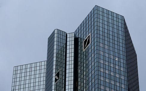 Deutsche Bank Declines After S&P Says Debt Rating May Be Cut