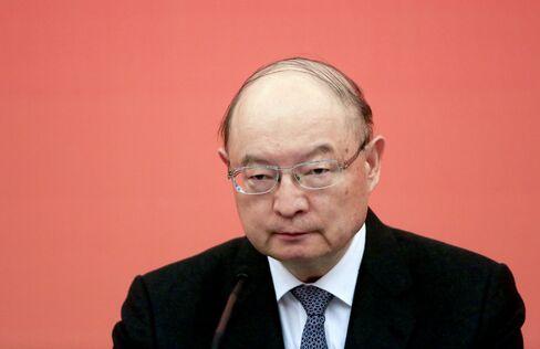 China Development Bank Outgoing Chairman Chen Yuan