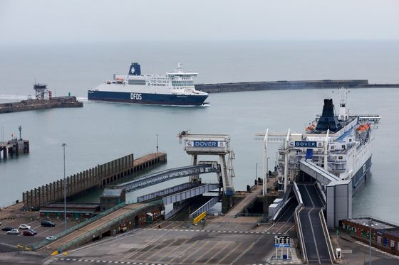 Britain's No-Deal Ferries Get Ready to Set Sail Two Weeks Early