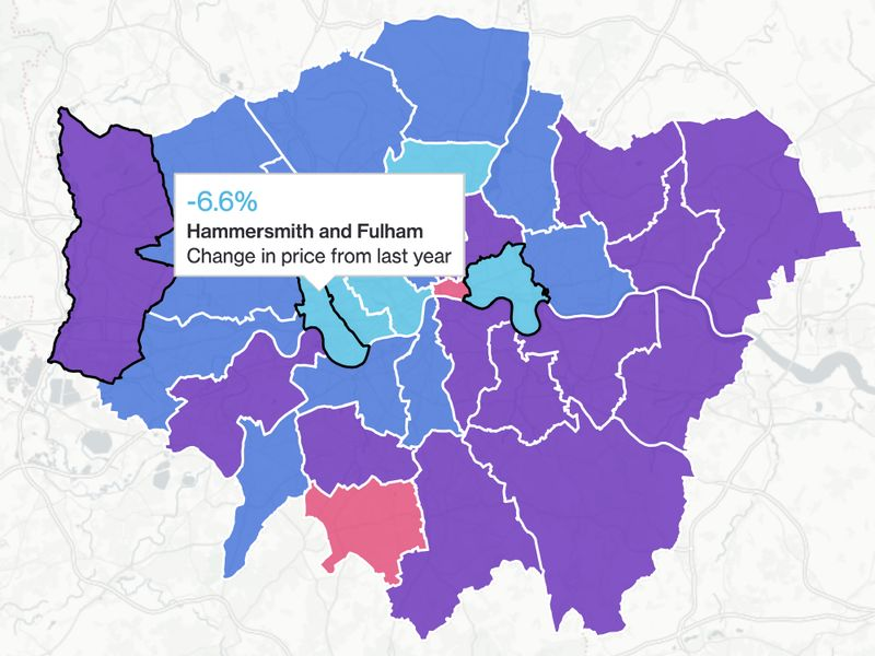 relates to London Property: The East-West Divide