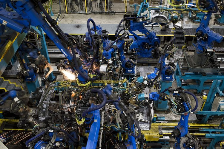 Inside A Honda Motor Co. Facility As Company Rejects Robots