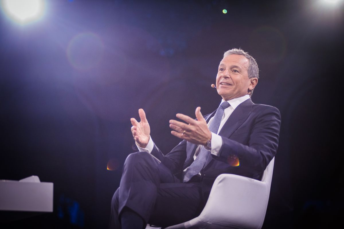 Disney's Iger Says He Won't Take Position on Hong Kong Protests