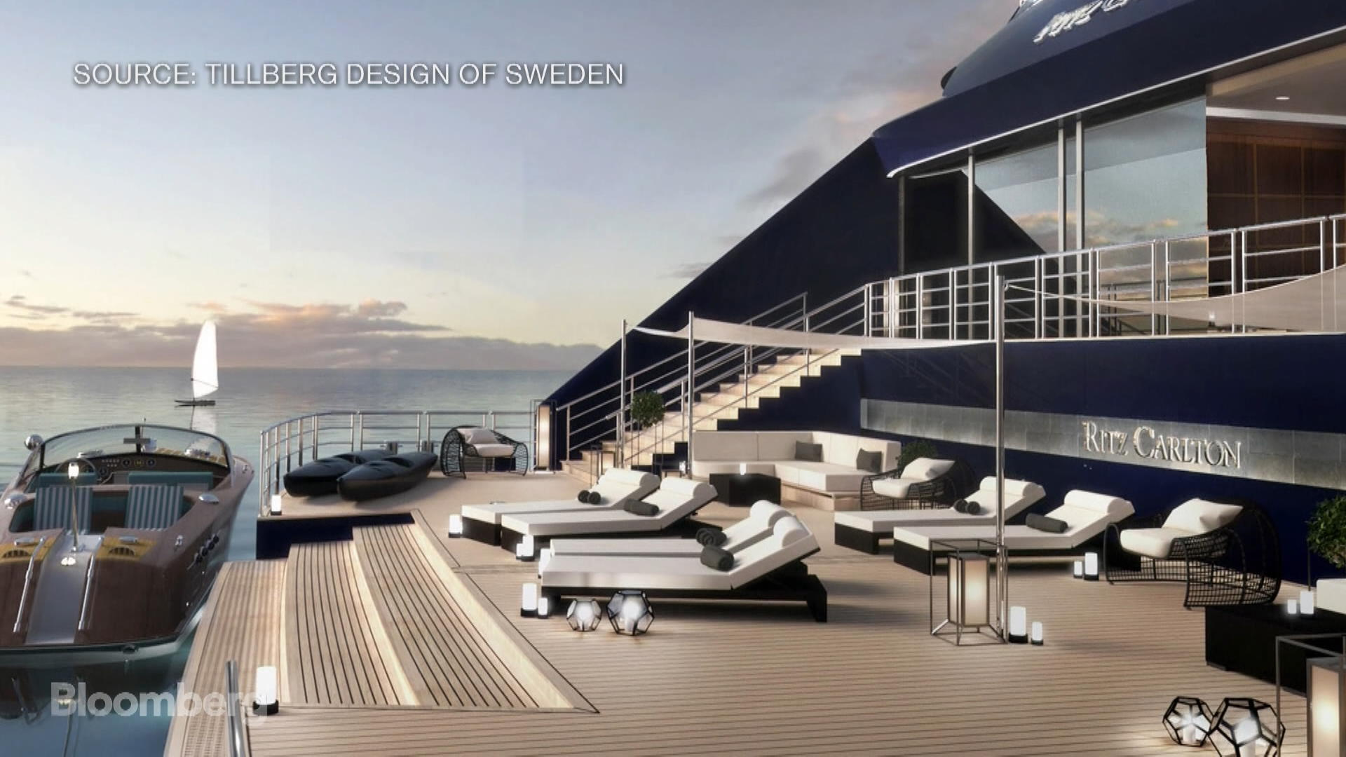 Why RitzCarlton Is Building The AntiCruise Ship Bloomberg - Cruise ship builders