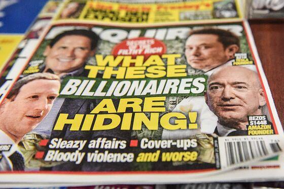 Bezos's Wild Days: Lurid Selfies, Blackmail, Amazon Drama in NYC