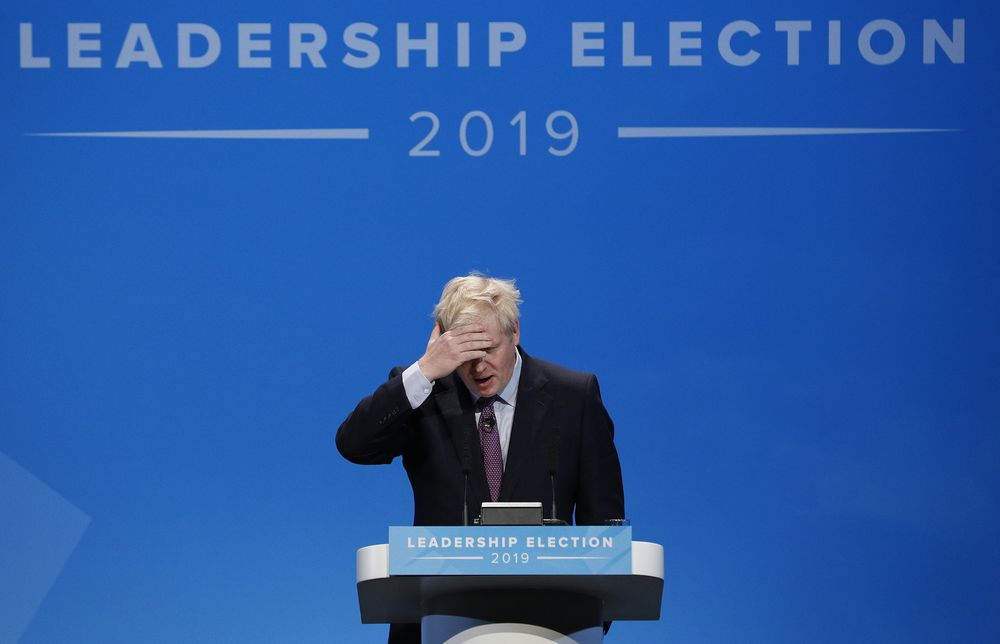 Boris hits bump in road to No. 10
