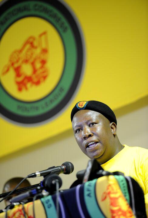 ANC Youth Leader Julius Malema