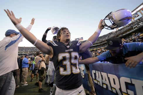 Chargers Player Danny Woodhead