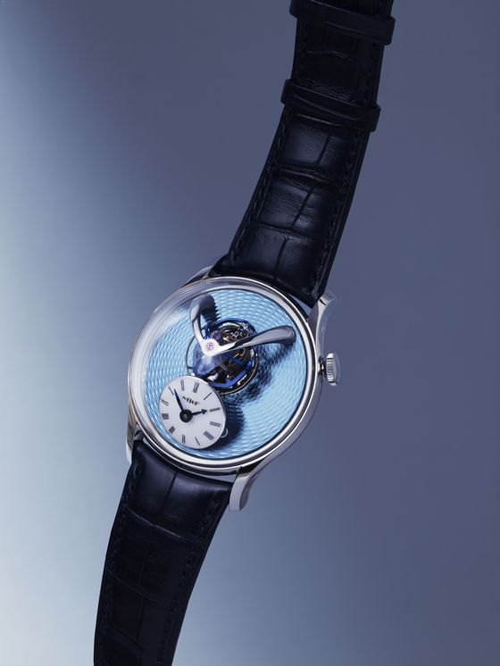 For $280,000, This Clever MB&F Watch Turns Time on Its Side