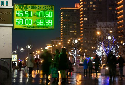 Russia Sees First Recession Since 2009