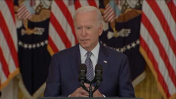 Biden Says He Doesn't Think He Can Overrule Governors on Masks