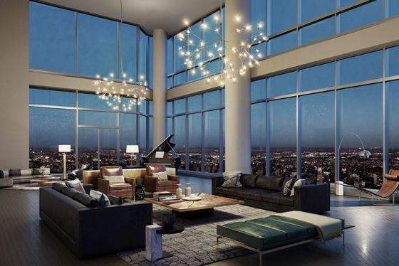Manhattan's Tallest Condo Building Joins a Swamped Luxury Market