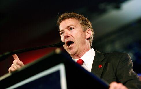 Rand Paul, newly elected Republican senator from Kentucky