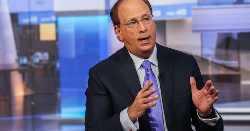 BlackRock Inc.Chief Executive Officer Laurence Fink Interview