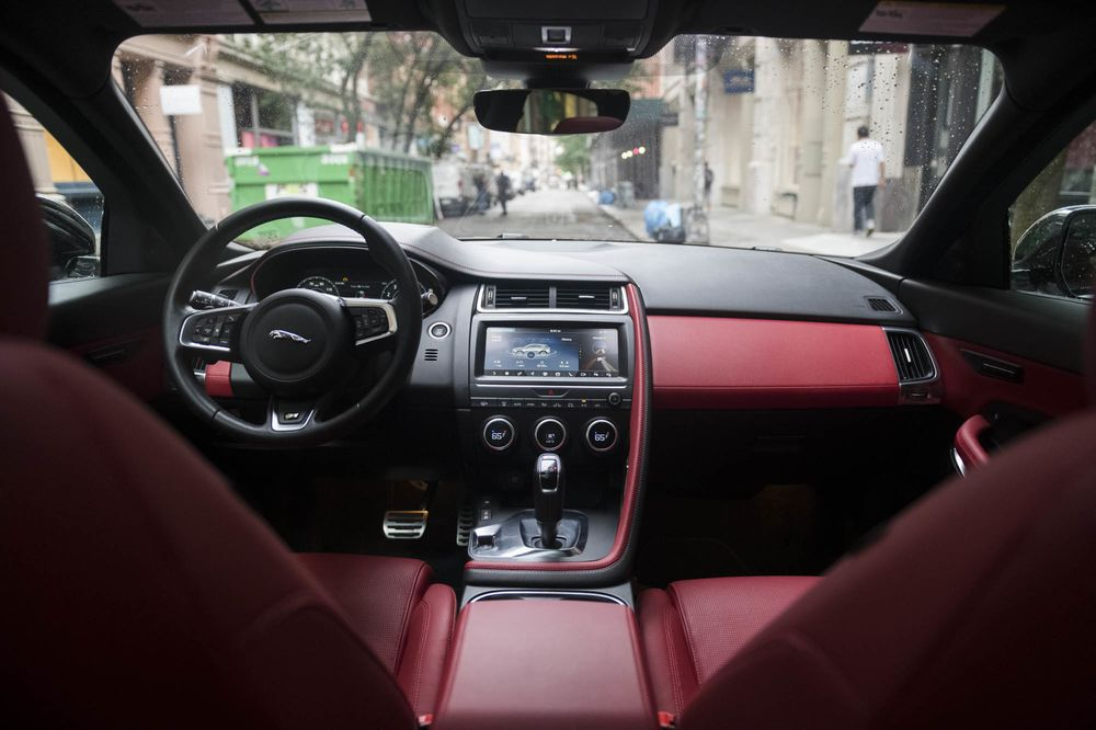 Jaguar E-Pace Compact SUV Crossover Review - Bloomberg