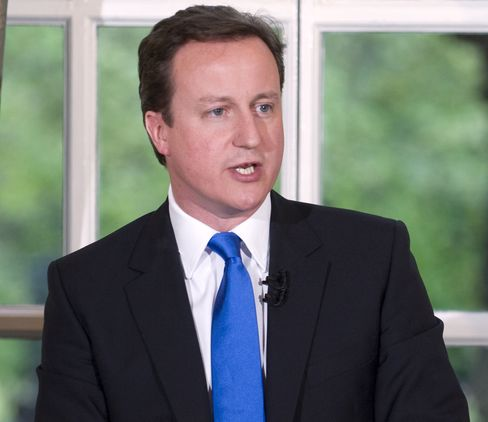 Cameron will call Obama tomorrow afternoon
