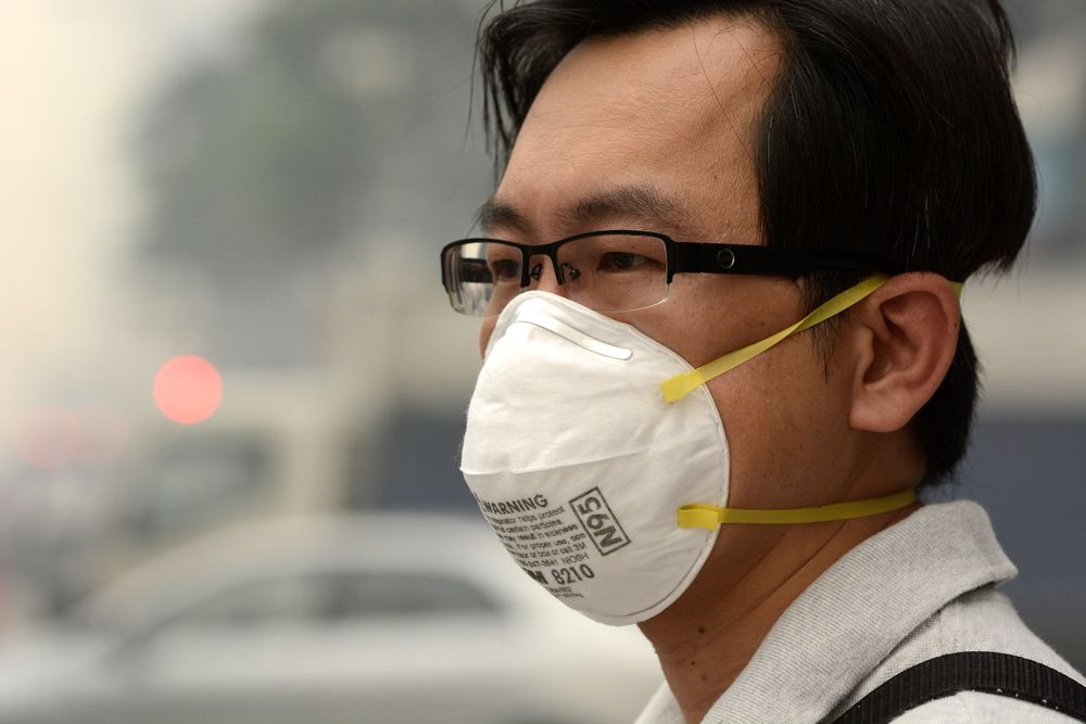 masque ffp2 anti virus coronavirus