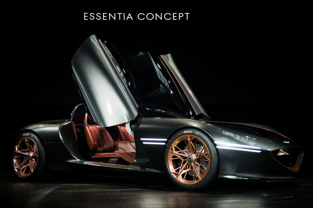 All Electric Genesis Essentia Concept Debuts At New York Show