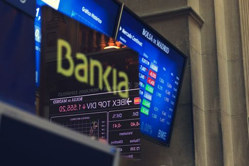 Spain to Recapitalize Bankia After 4.45 Billion-Euro Loss