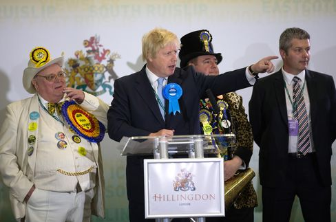 Boris Johnson Attends His Constituency Declaration