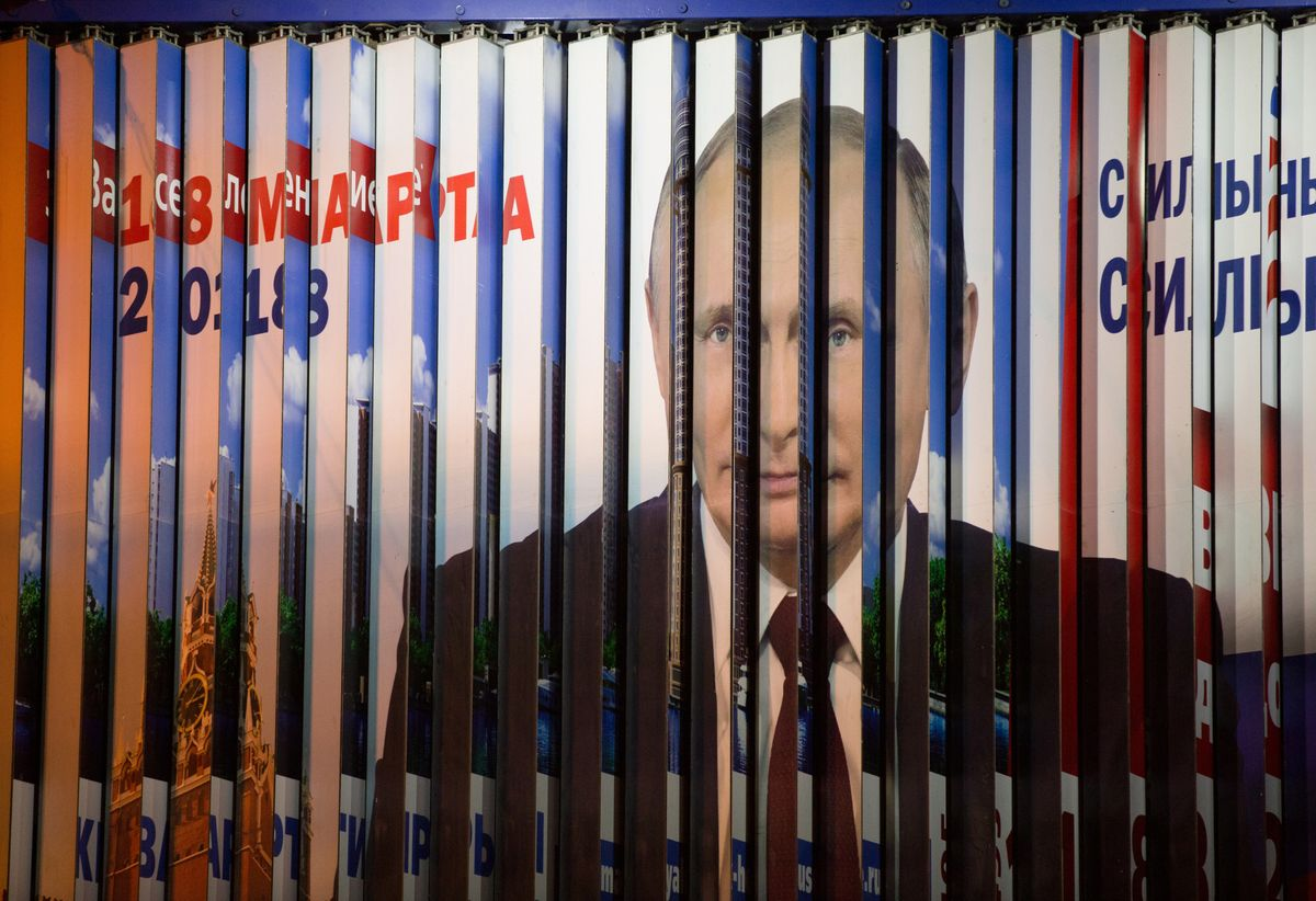 Russians vote on new Putin presidential term as tension flares with West