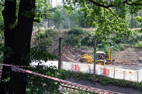 Excavations begin in Walbrzych on Aug. 16.