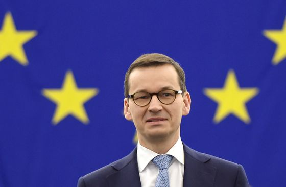 Poland's Isolation Shown as Premier Is Slammed in EU Parliament
