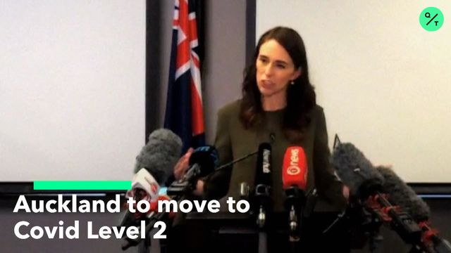Auckland to Move To Covid Level 2