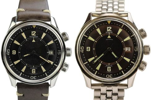 The Polaris is a hybrid dive watch and alarm watch, and the Memovox most desired by collectors.