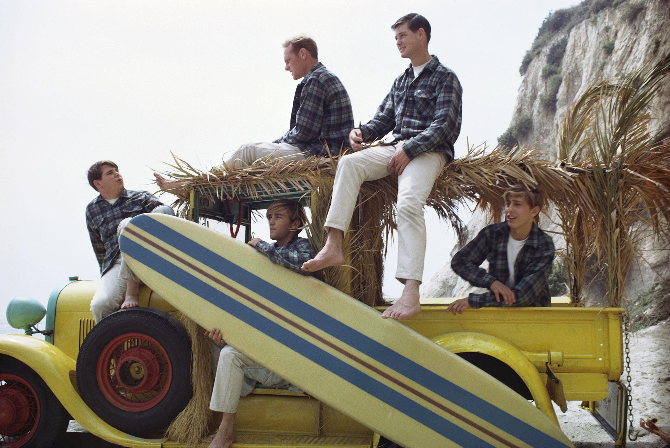 Beach Boys At The Beach