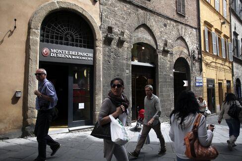 Banca Monte dei Paschi di Siena Bank Branch in Siena
