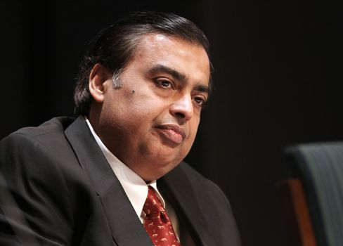 Billionaire Mukesh Ambani