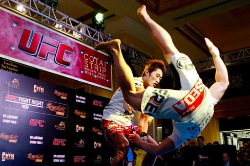 The Search Is On for a Chinese Ultimate Fighting Champion