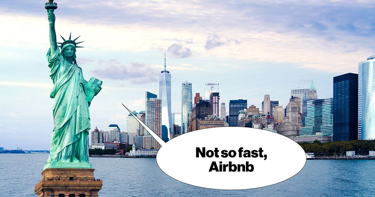 New York Is Standing Between Airbnb and an IPO