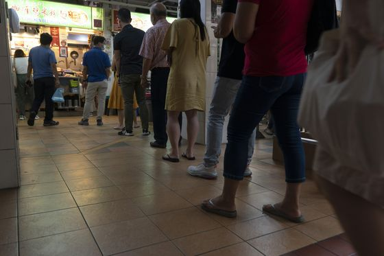 Crunchtime for Cash at Singapore's Famed Hawker Food Stalls