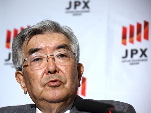 Japan Exchange Group CEO Atsushi Saito