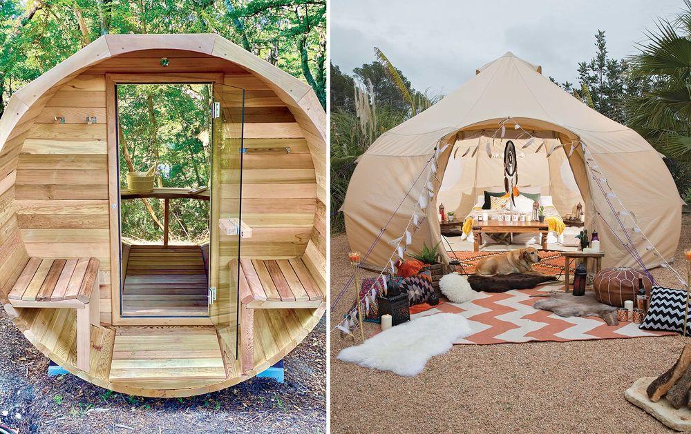 Best Fire Pits Tents And Clothing To Keep Warm Outdoors This Winter Bloomberg