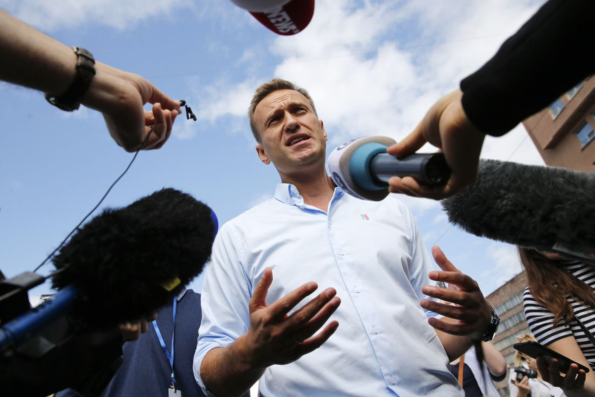 Why Alexei Navalny S Poisoned Tea Bodes Ill For Putin S Russia Bloomberg