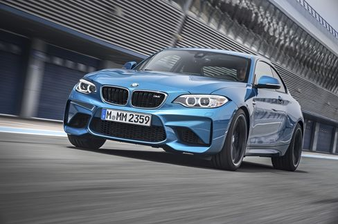 The 2016 BMW M2.