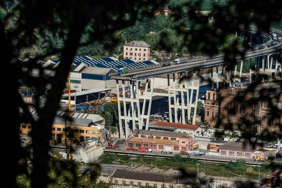 Benettons Confront Italy's Populists Over Bridge Disaster