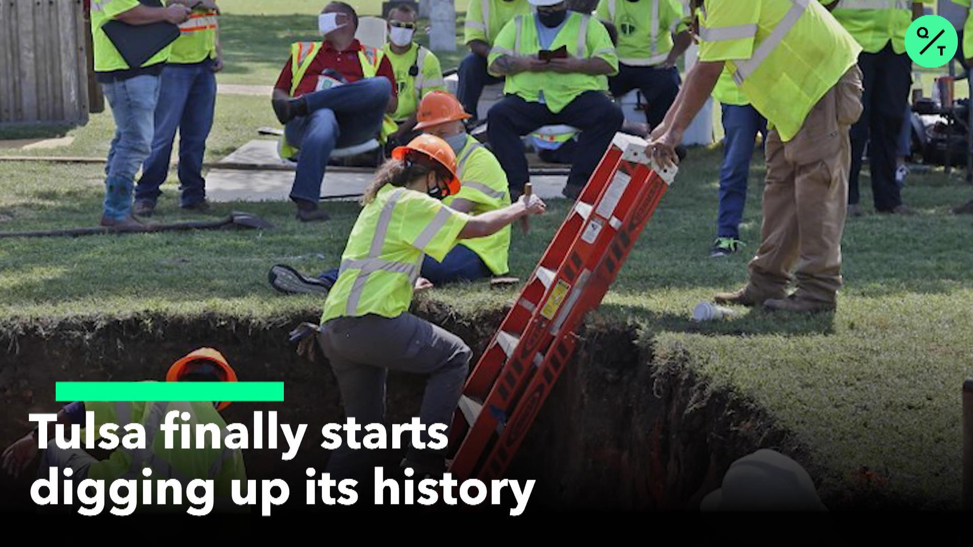 Tulsa Begins Digging Massacre Sites