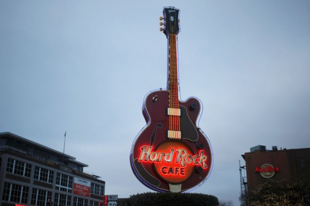 Hard Rock Cafe Wants You To Forget That Old Time Rock And