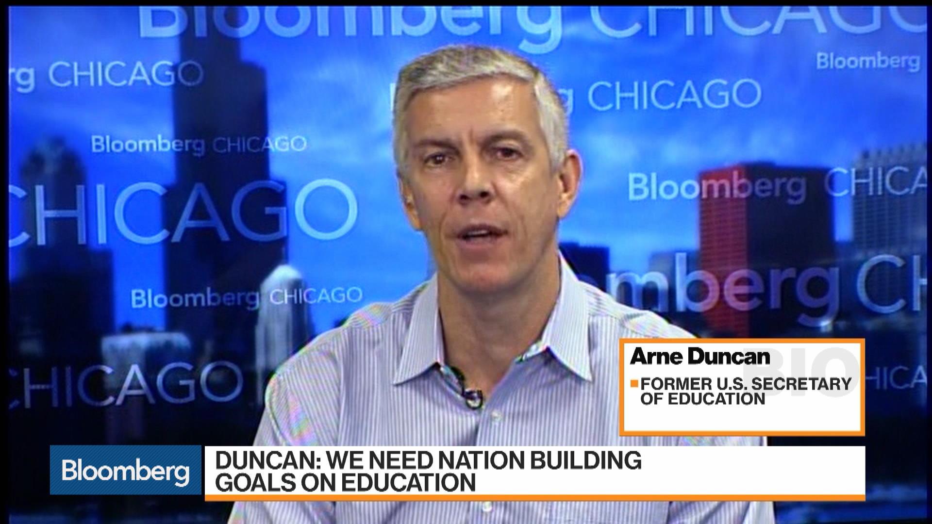 Education System Needs Fundamental Changes: Arne Duncan