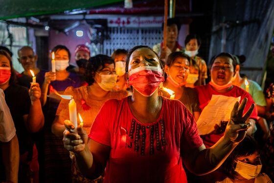 Myanmar Chokes Internet, Blocks Twitter Amid Anti-Coup Protests