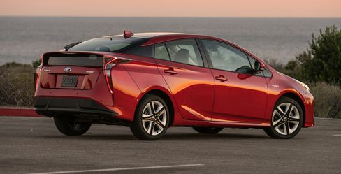 The 2016 Toyota Prius.