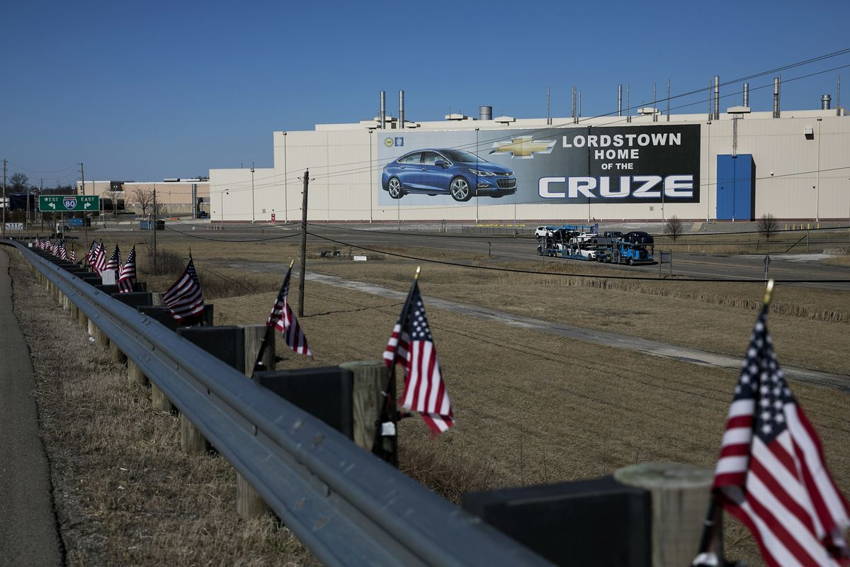 GM's Offer of a Lifeline for Lordstown Had a Catch: Lower Pay
