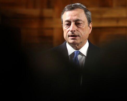 ECB President Mario Draghi Opens Academic Year At Universita Cattolica